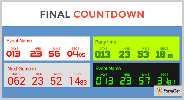 final-countdown-Countdown WordPress Plugins