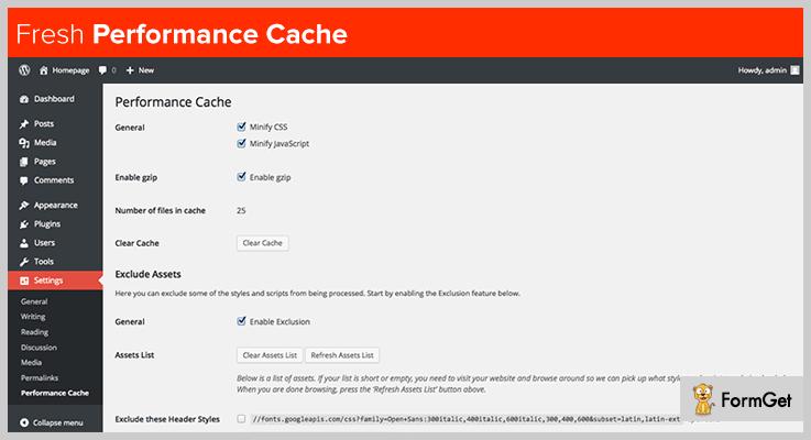 Cache WordPress Plugin