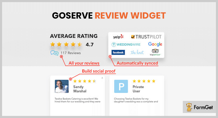 Goserve Review Widget