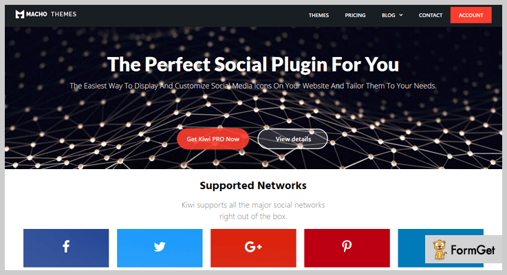 Kiwi Social Share – Social Media WordPress Plugin