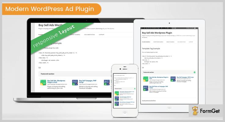 Modern WordPress Ad Plugin - Ad WordPress Plugins