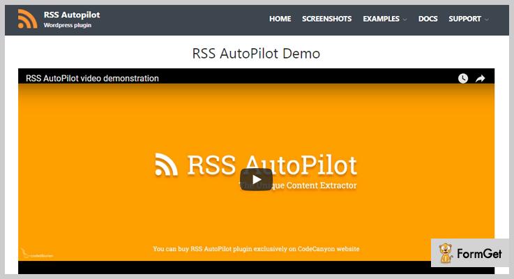 RSS AutoPilot