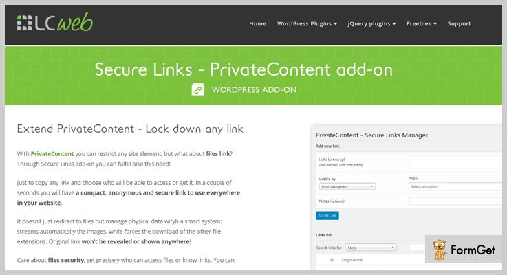 Secure Links
