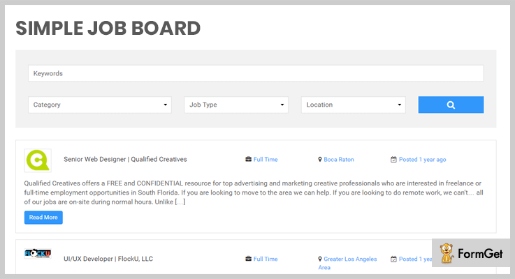 job board WordPress plugins