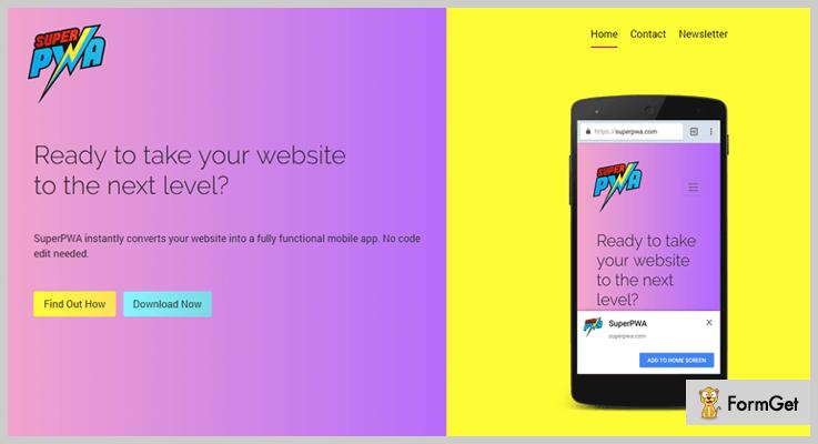 Super Progressive Web Apps WordPress Web App Plugin