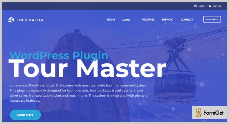 Tour Master Travel Agency WordPress Plugin