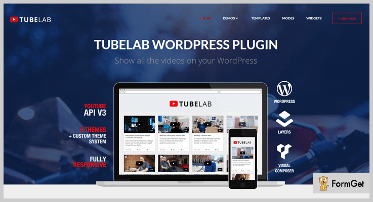 7+ Best YouTube WordPress Plugins 2018 | FormGet