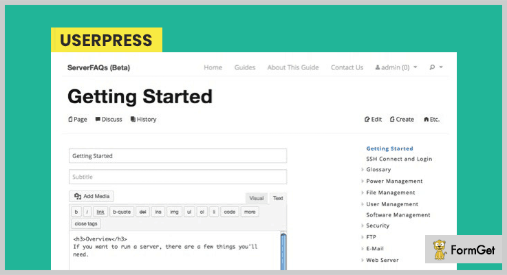 UserPress-Wiki WordPress Plugins
