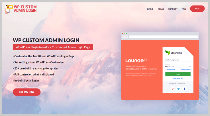 WP Custom Admin Login - Best Login WordPress Plugins