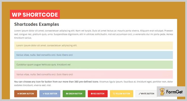 WP Shortcode