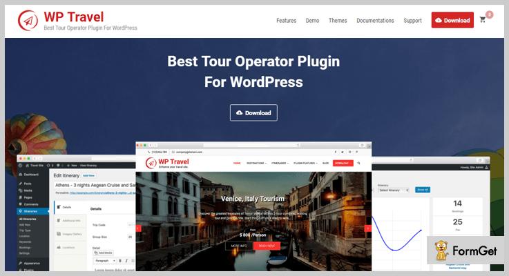 WP Travel Travel Agency WordPress Plugin