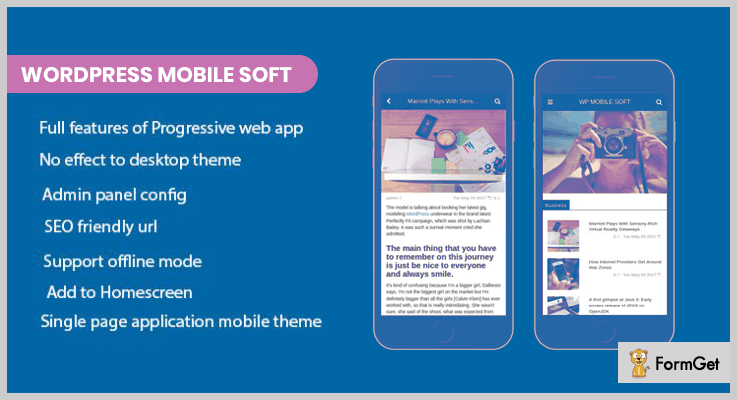 WordPress Mobile Soft