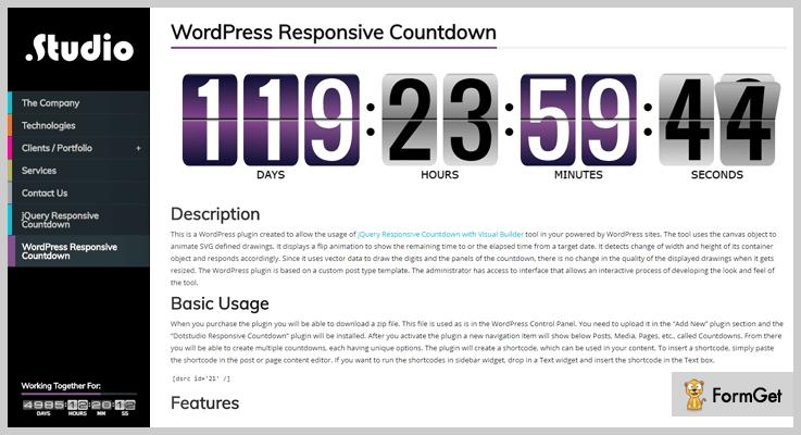 wordpress responsive countdown-countdown-wordpress-plugins