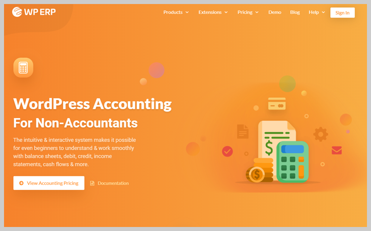 WP ERP - Accounting WordPress Plugins