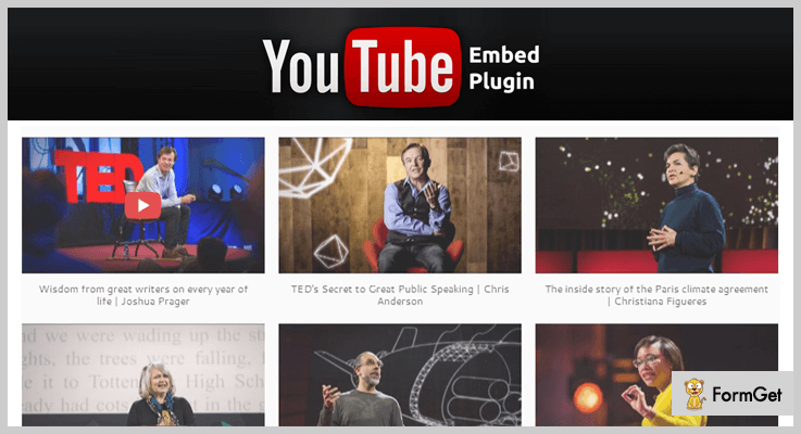 YouTube WordPress Plugins