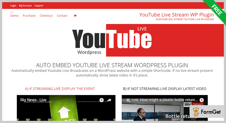 Live Streaming WordPress Plugins