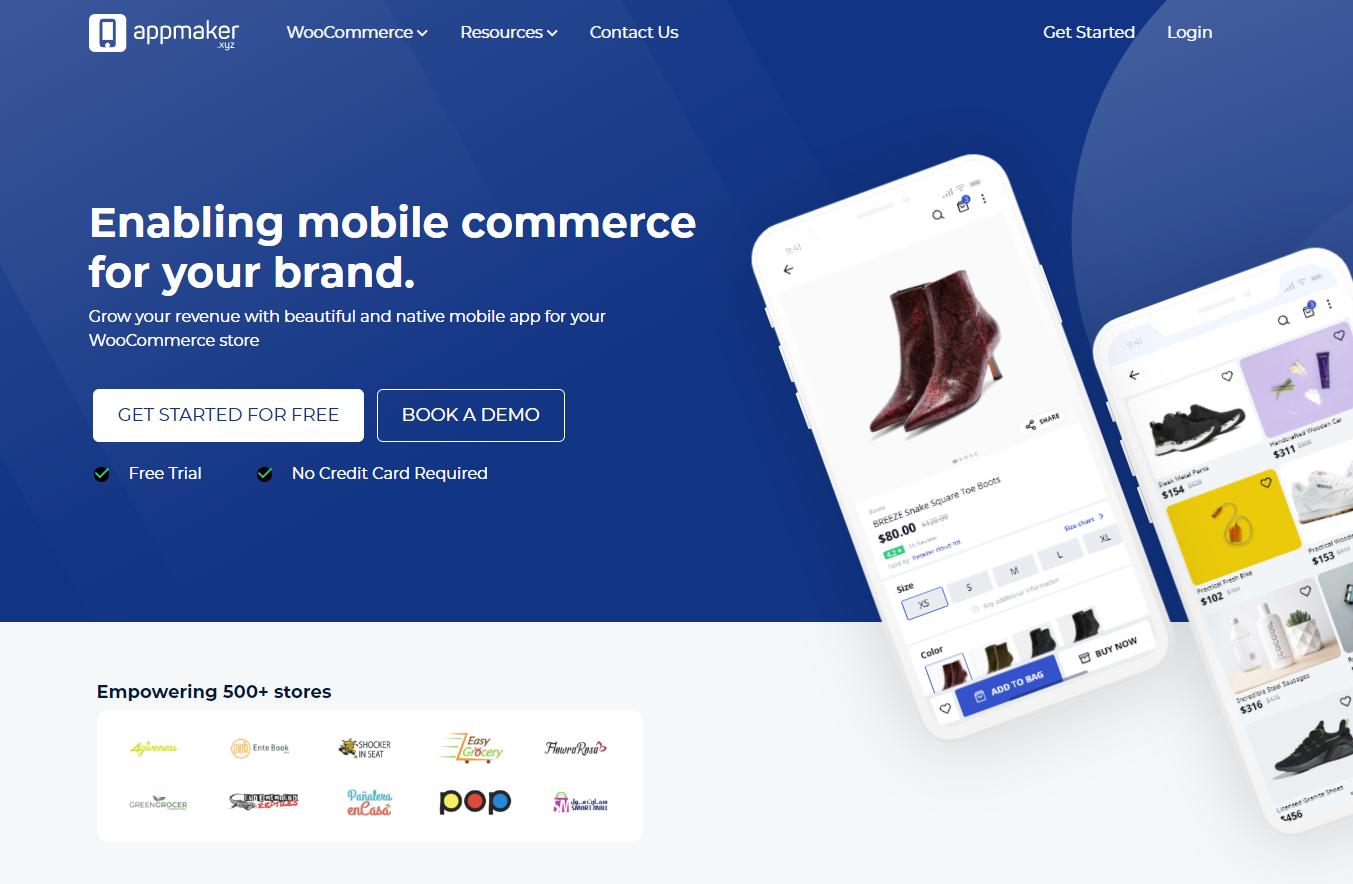 Appmaker WooCommerce Mobile App Builder
