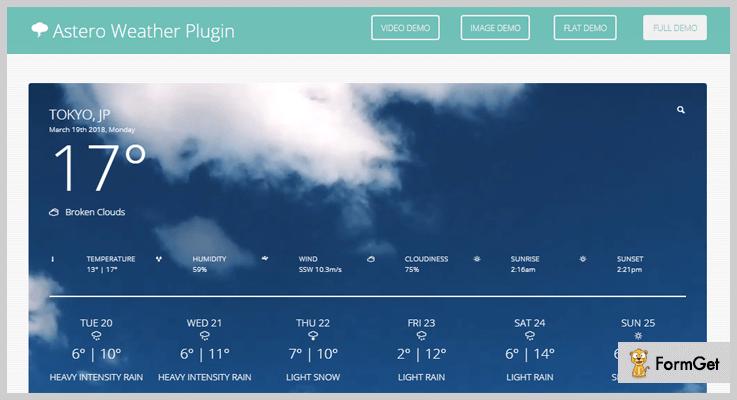 Weather WordPress Plugin
