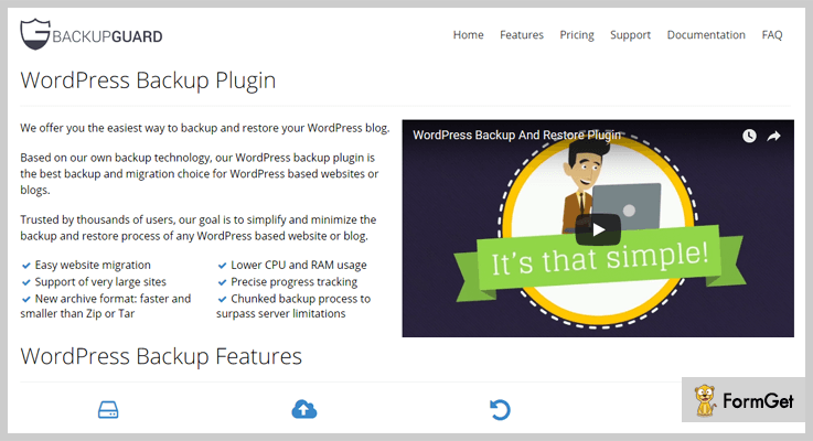 Migration WordPress Plugin
