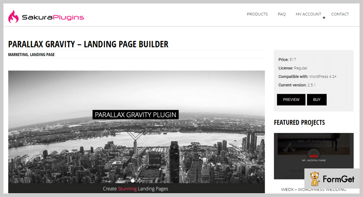 best-landing-page-wordpress-plugins-parallax-gravity