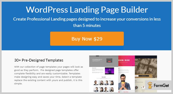 best-landing page wordpress plugins-ultimate-landing-page-builder-plugin