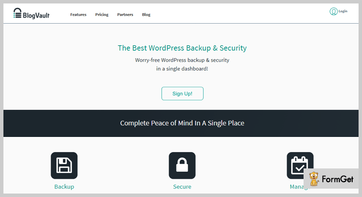 blog-vault-Backup WordPress-Plugins