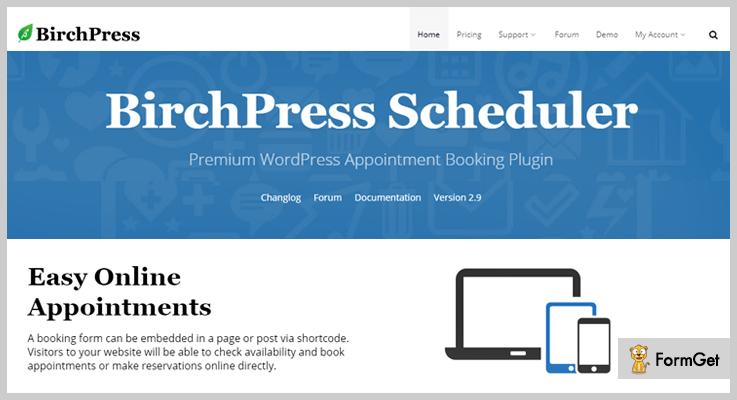 Brichpress Booking WordPress Plugins