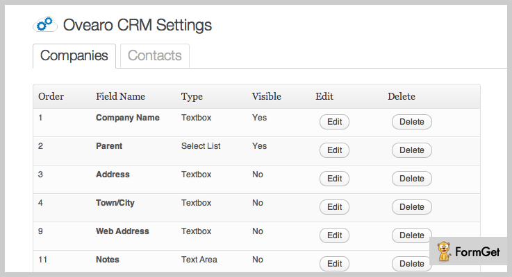 crm wordpress plugins ovearo-wordpress-crm