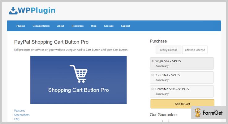 PayPal WordPress Plugin