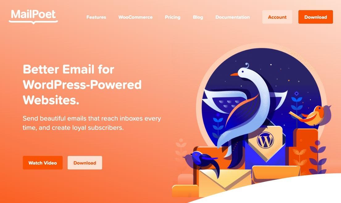 MailPoet Newsletter WordPress Plugins