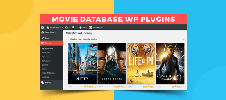 5 WordPress Plugins Movie Database (Free & Paid) | FormGet