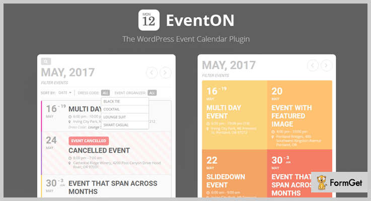 Events WordPress Plugins