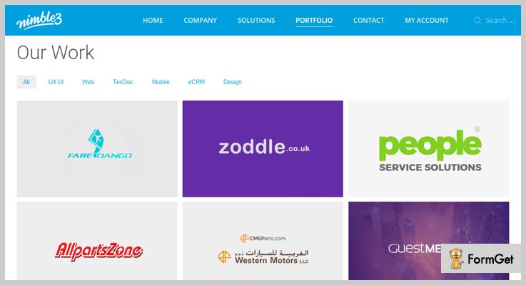 nimble3-Portfolio WordPress Plugins