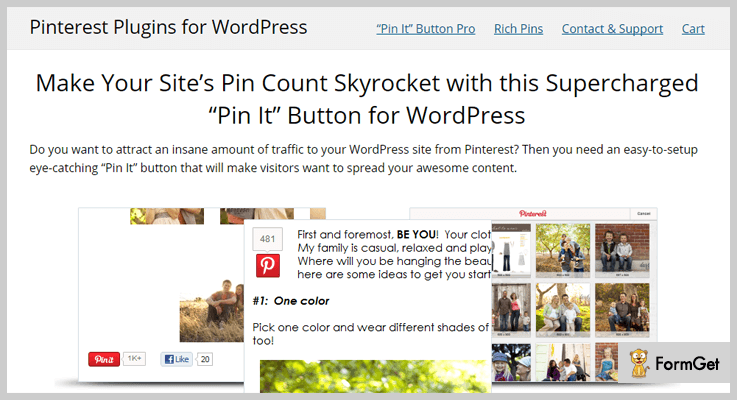 """Pin It"" Button"