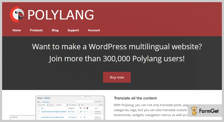 Translation WordPress Plugin