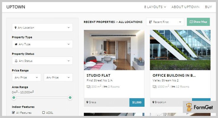 real-estate-wordpress-plugins-uptown
