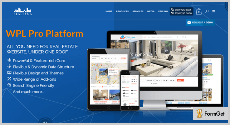 real estate wordpress plugins wpl-pro-platform