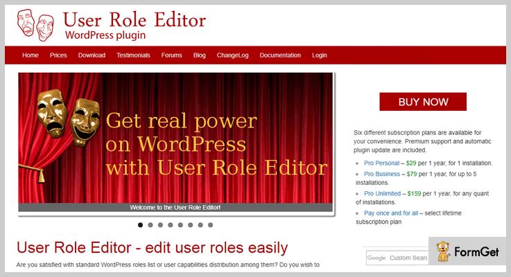 role editor