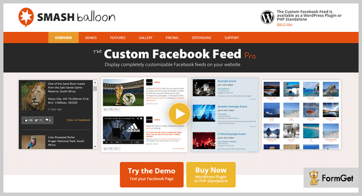 smashballoon-Facebook WordPress-Plugins