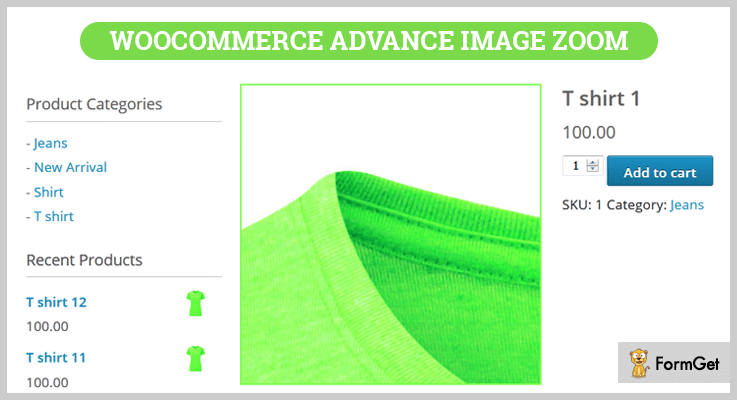 WooCommerce Advance Image Zoom