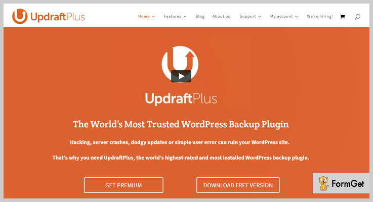 updraft-Backup WordPress-Plugins
