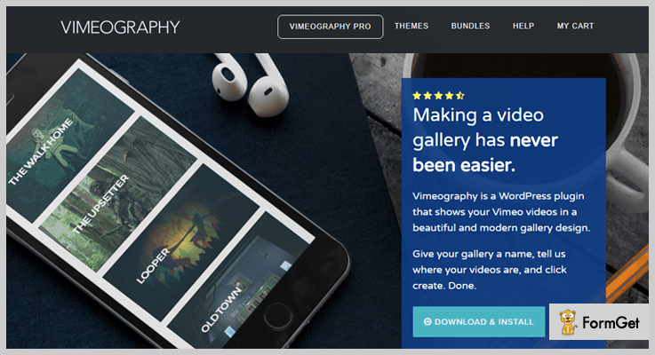 vimeo wordpress plugins vimeography