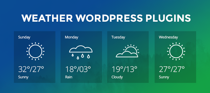 Weather WordPress Plugins