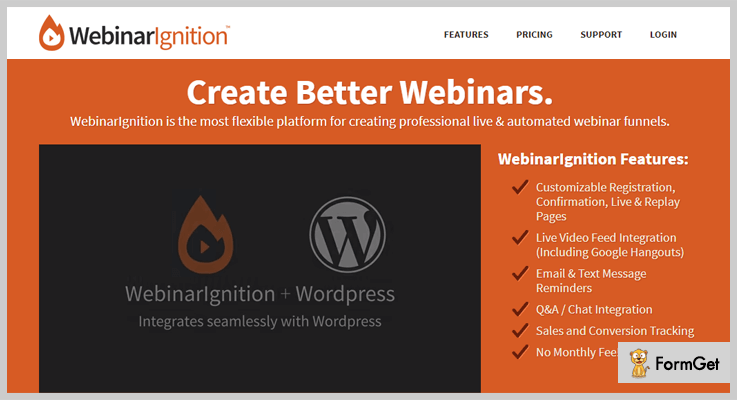 Webinar WordPress Plugin