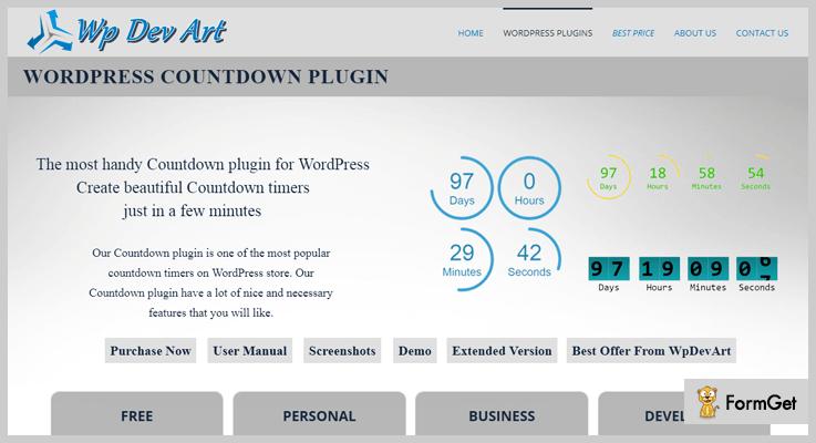 wpdevart-countdown-wordpress-plugins