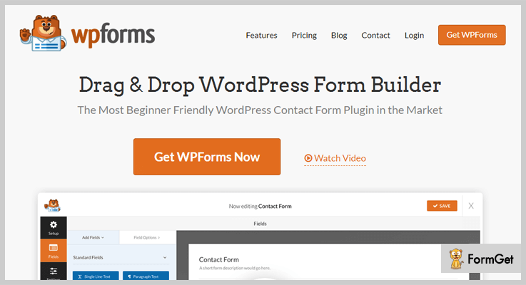 WP forms form WordPress plugins