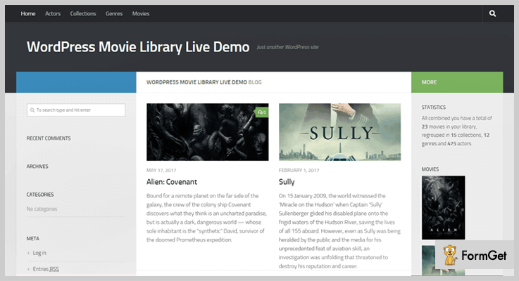 Library WordPress Plugin