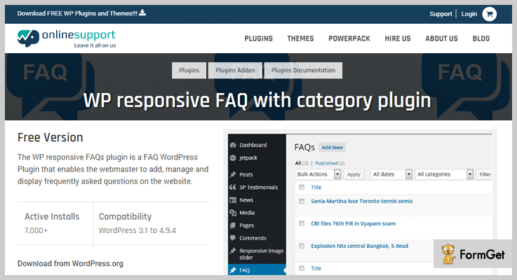 FAQ WordPress Plugin
