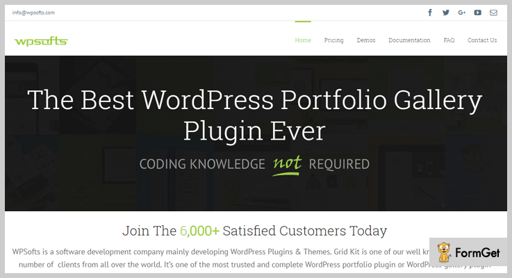 wpsofts2 Portfolio WordPress Plugins