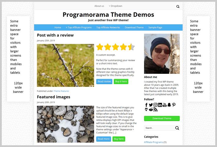 A Marketing Theme - Affiliate Marketing WordPress Themes